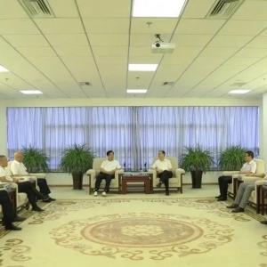中国中建设计集团领导莅临BOB棋牌app下载副会长单位、华纳集团考察指导