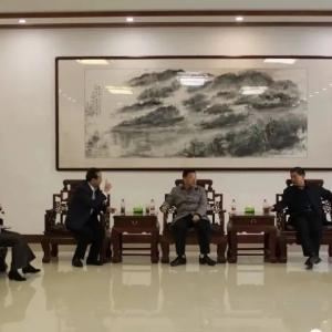 省委统战部分管日常工作的副部长李琥到BOB棋牌app下载常务副会长单位、尧王集团进行调研指导